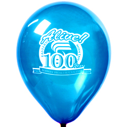 12 inch promotional balloons with logo